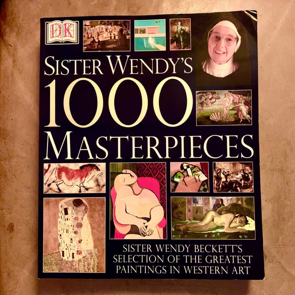 Sister Wendy 1000 masterpieces coffee table book