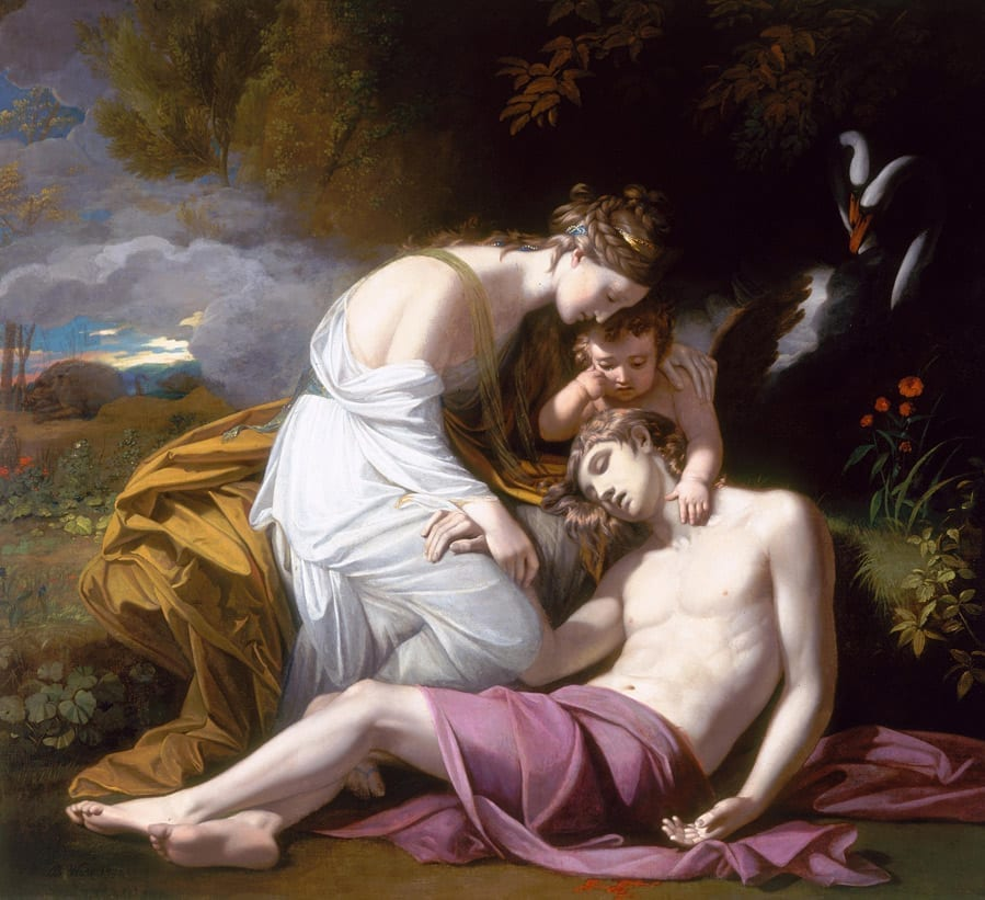 Venus Lamenting the Death of Adonis