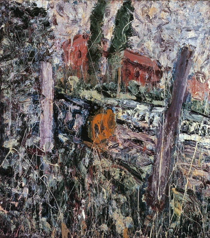 Here Comes the Diesel Leon Kossof english painter 1987