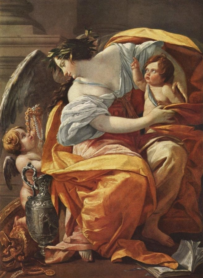 Wealth by Simon Vouet baroque masterpiece painting allegory