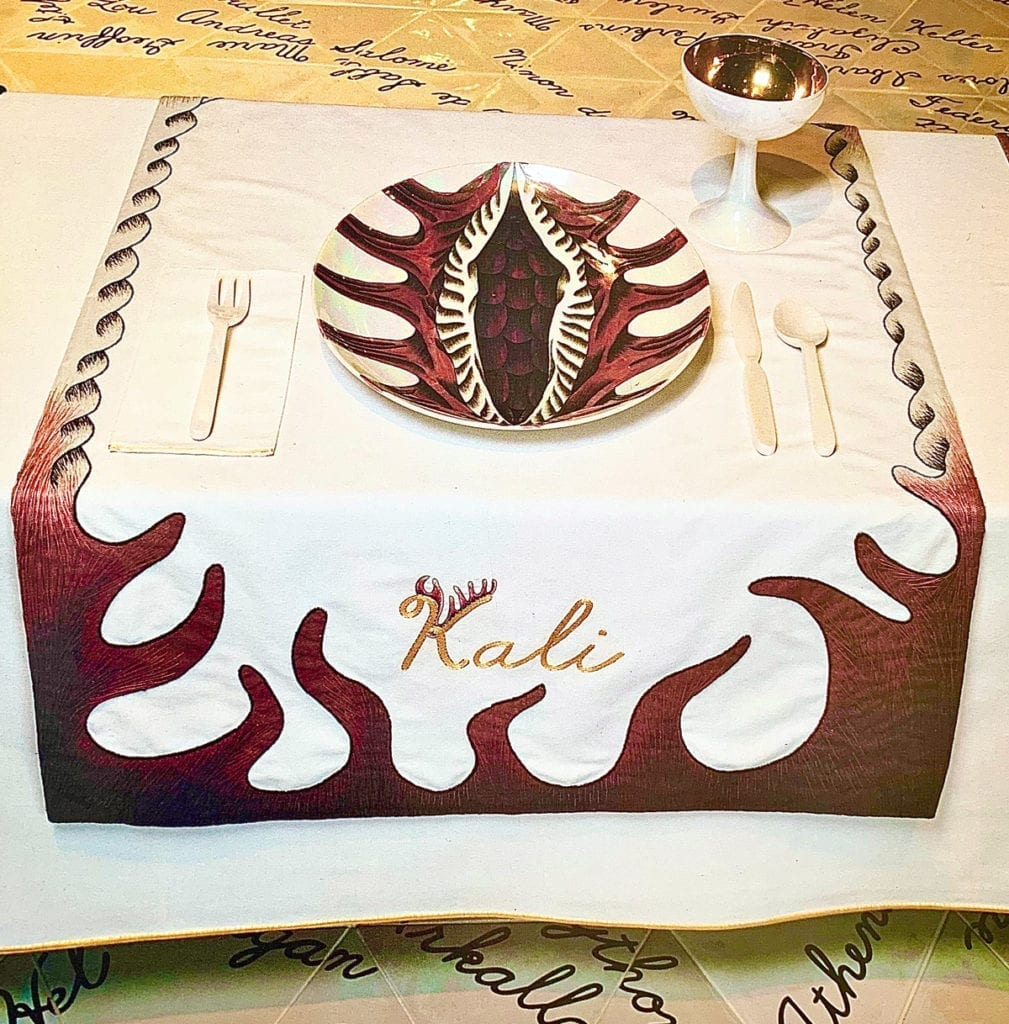 The Dinner Party - Judy Chicago - Goddess