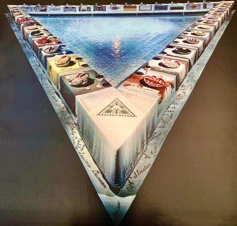The-Dinner-Party-Exhibit - Judy chicago