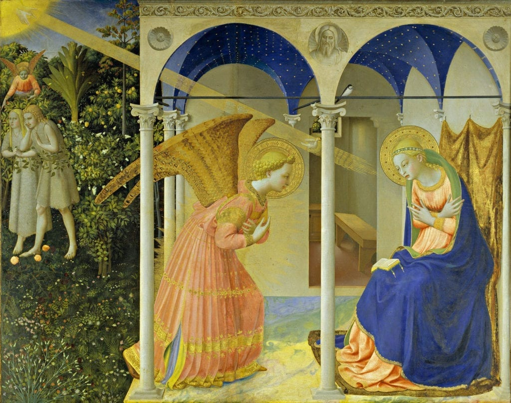 Saint Fra Angelico - The Annunciation