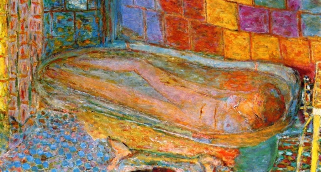 Nude in the Bath by Pierre Bonnard