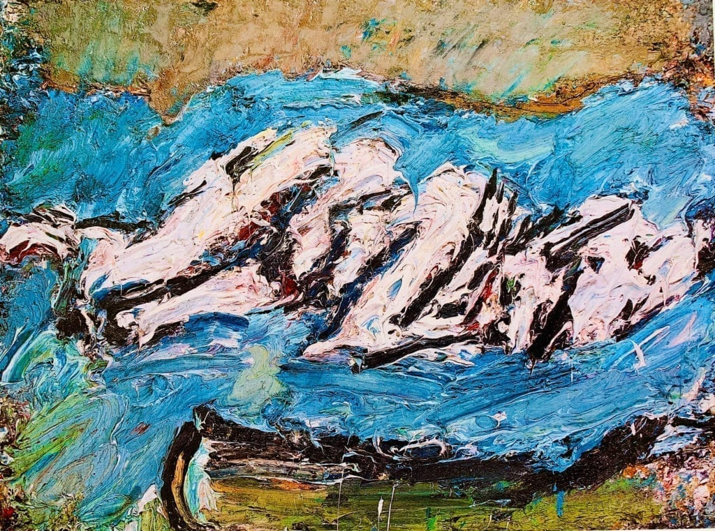 EOW-ON-HER-BLUE-EIDERDOWN-II-BY-FRANK-AUERBACH