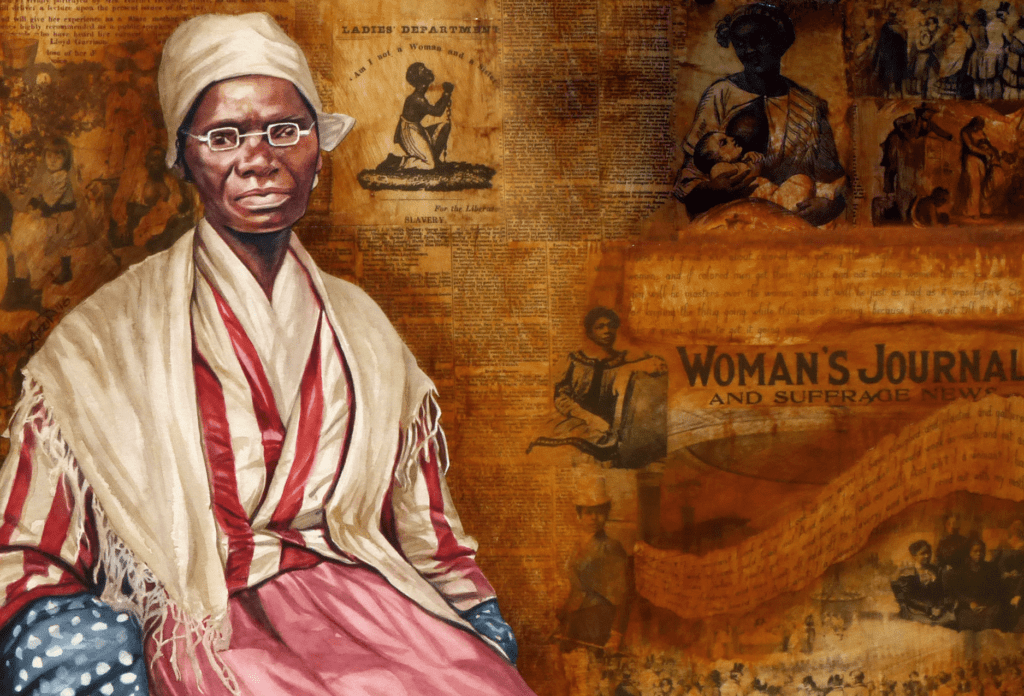 Sojourner Truth painting by Adri Norris