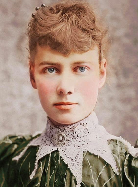 Nellie Bly Colorized - Journalist, Inventor,  World Traveler