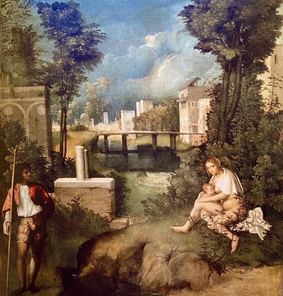 The Tempest by Italian Master Giorgione
