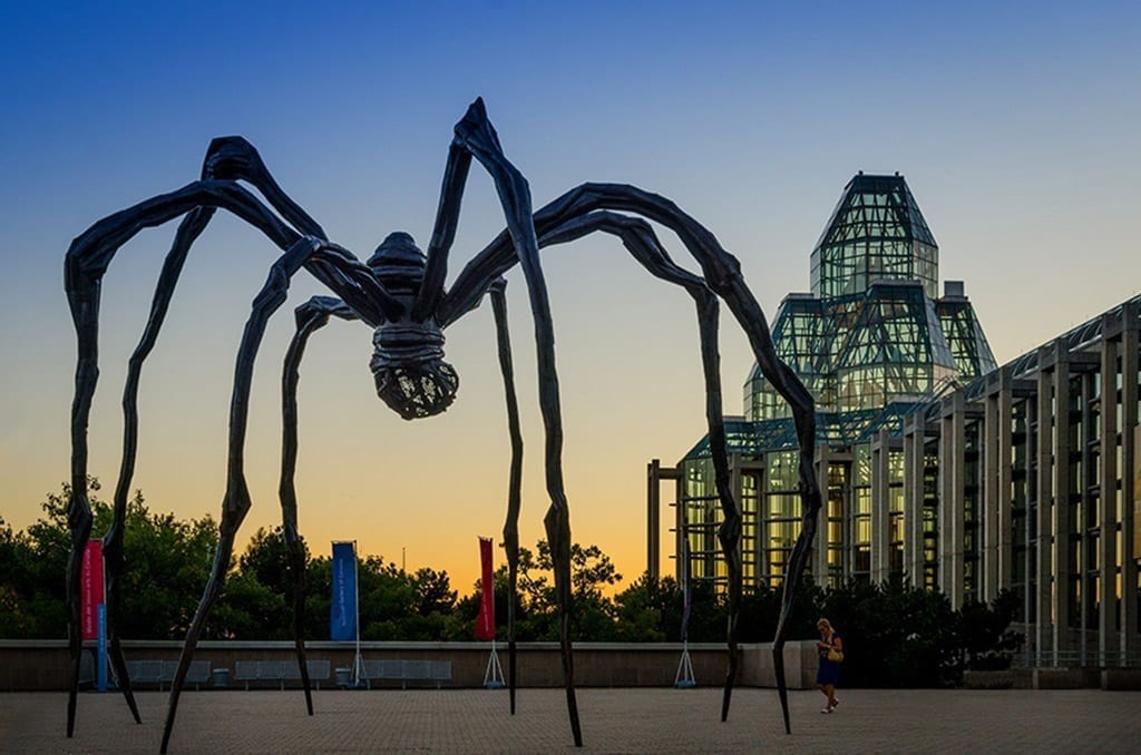 Louise Bourgeois - Maman - Outside the National Gallery of Canada