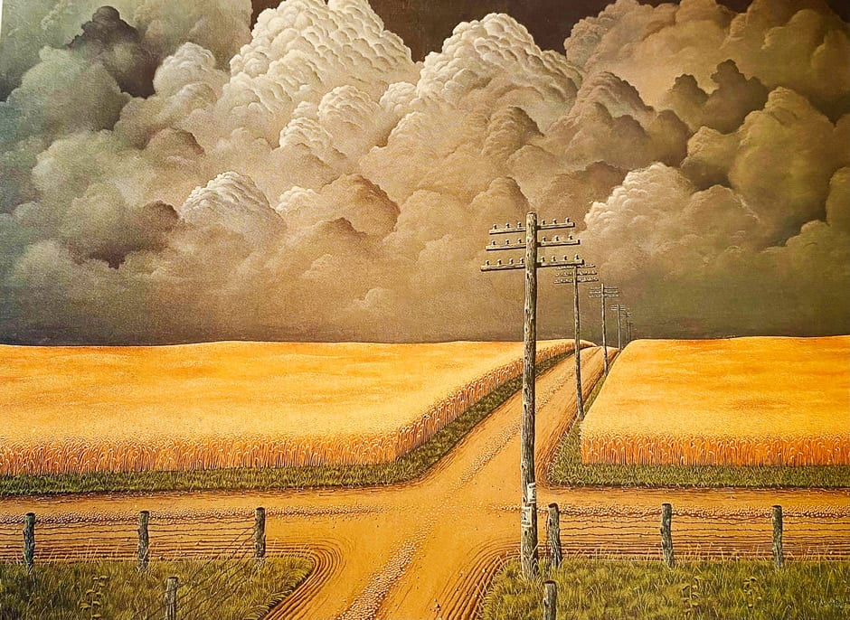 John Rogers Cox – Gray and Gold