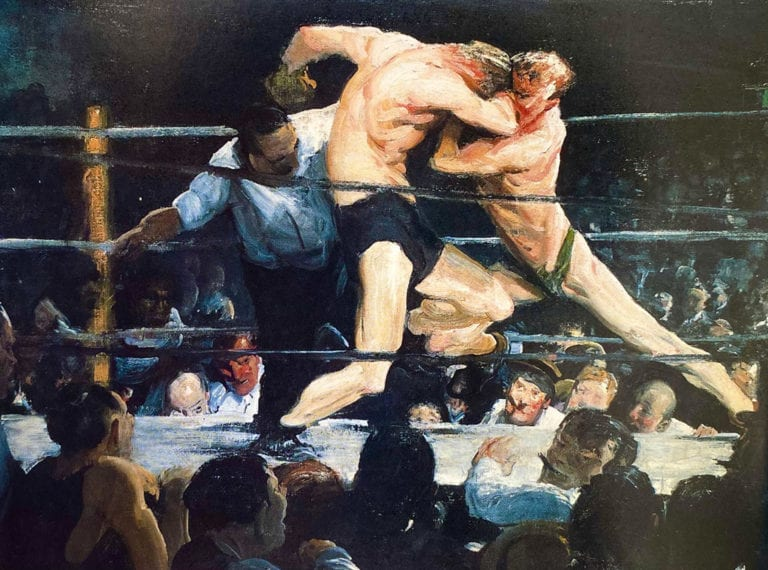 Stag-at-Sharkeys-by-George-Wesley-Bellows
