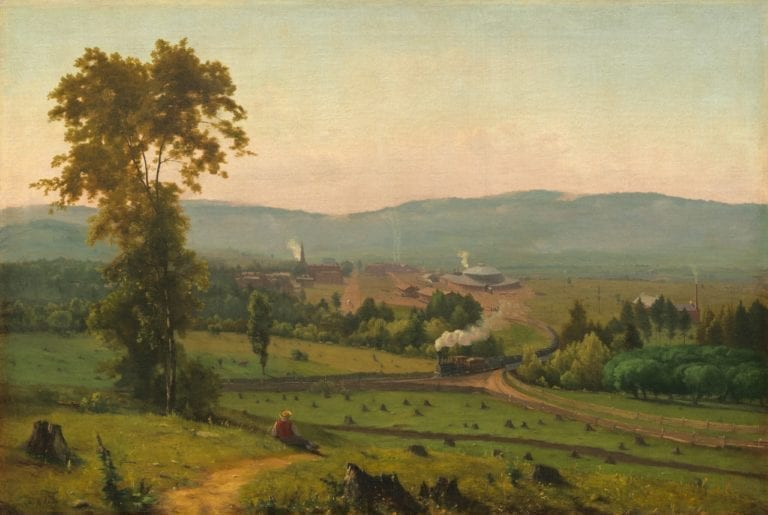 The Lackawanna Valley by George Inness