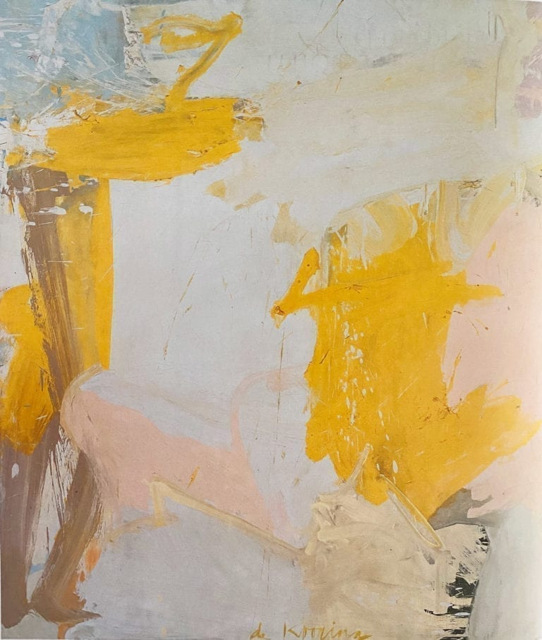 Rosy-Fingered-Dawn at Louse Point by Willem De Kooning