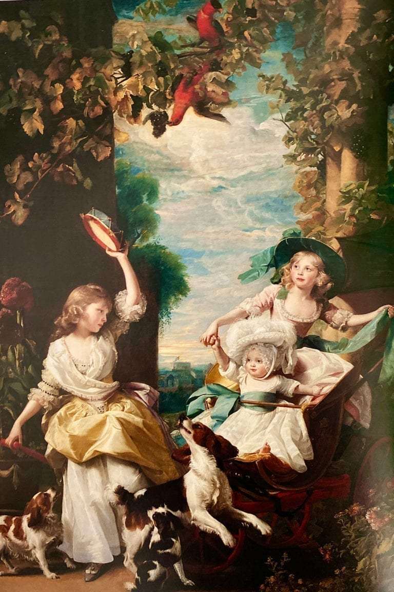 The-three-Youngest-daughters of George III