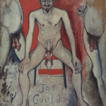 Joe Gould by Alice Neel - painter of Hartley on the Rocking Horse