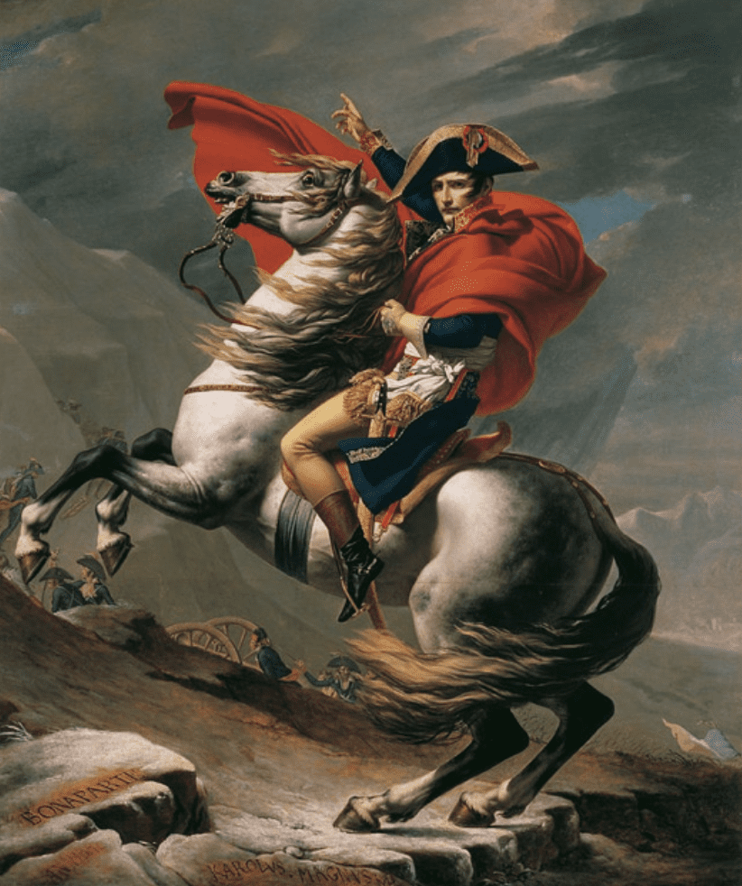 Napoleon Leading the Army over the Alps
